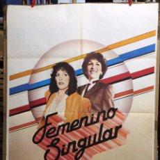 Cine: FEMENINO SINGULAR. CARMEN MAURA, EMILIO GUTIERREZ CABA, EMMA COHEN. AÑO 1982.. Lote 57570419