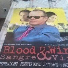 Cine: BLOOD Y WINE. SANGRE Y VINO. JACK NICHOLSON. 98 X 68. Lote 57606112