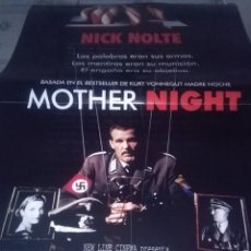 Cine: NICK NOLTE. BASADA EN EL BESTSELLER MOTHER NIGHT. 96 X 67. Lote 57606829