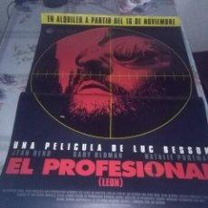 Cine: EL PROFESIONAL 97,5 X 68. Lote 57606936