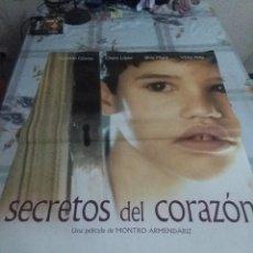 Cine: SECRETOS DEL CORAZÓN. 95 X66. Lote 57607578
