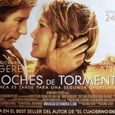 Cine: NOCHES DE TORMENTA (SUSPENSE). Lote 57619096