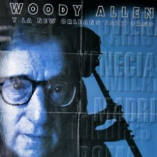 Cine: CARTEL ESPAÑOL DE CINE ''WILD MAN BLUES'' 1998 (USA) DOCUMENTAL MUSICAL WOODY ALLEN 70X100CM. Lote 57639336