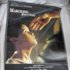 Cine: ANTIGUO POSTER CARTEL DE CINE ORIGINAL - MARCELINO PAN Y VINO. Lote 57644910