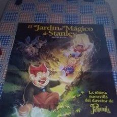 Cine: EL JARDIN MAGÍCO DE STANLEY. 86.8 X 66. Lote 57650653