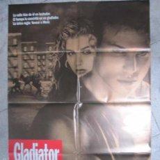 Cine: CARTEL DE CINE. GLADIATOR. 98 X 68 CM. Lote 57657791