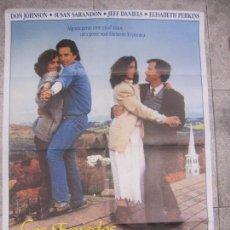 Cine: CARTEL DE CINE. LOS ENREDOS DE LA VIDA. 98 X 68 CM.. Lote 57657956