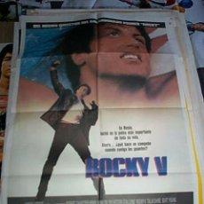 Cine: POSTER ORIGINAL DE 70X100CM ROCKY V. Lote 57658630