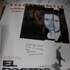 Cine: ANTIGUO POSTER CARTEL DE CINE ORIGINAL - EL ROSTRO. Lote 57658976