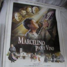 Cine: ANTIGUO POSTER CARTEL DE CINE ORIGINAL - MARCELINO PAN Y VINO. Lote 57659353