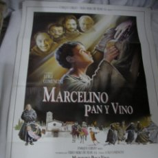 Cine: ANTIGUO POSTER CARTEL DE CINE ORIGINAL - MARCELINO PAN Y VINO. Lote 57659452