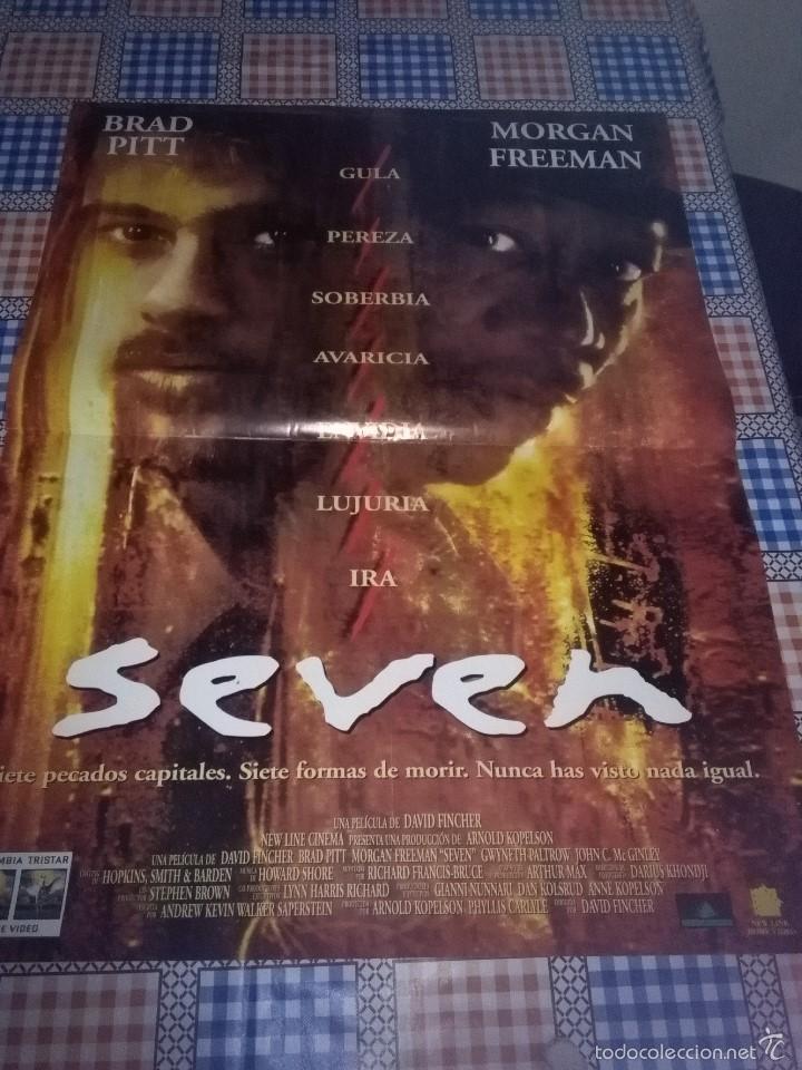 SEVEN 80 X 60 (Cine - Posters y Carteles - Suspense)