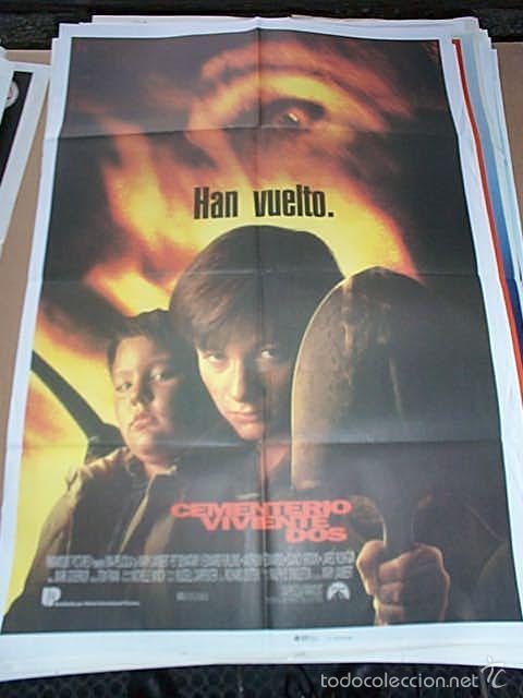 POSTER ORIGINAL DE 70X100CM EL CEMENTERIO VIVIENTE 2 (Cine - Posters y Carteles - Terror)