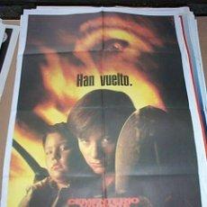 Cine: POSTER ORIGINAL DE 70X100CM EL CEMENTERIO VIVIENTE 2. Lote 57661277