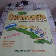 Cine: GUANTANAMERA 97,7 67,7 DEFECTO. Lote 57665888