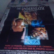 Cine: THE UNDERNEATH 98,6 X 68,3 TIENE DEFECTO. . Lote 57666226