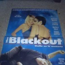 Cine: THE BALCKOUT. OCULTO EN LA MEMORIA.98 X 68 CO DEFECTO. Lote 57666976