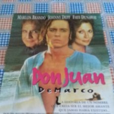 Cine: DON JUAN DE MARCO. 80 X 60. Lote 57667814
