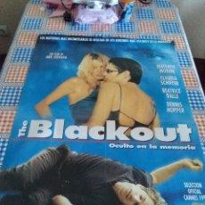 Cine: THE BLACKOUT OCULTO EN LA MEMORIA. 98 X 68 CON DEFECTO. Lote 57668239