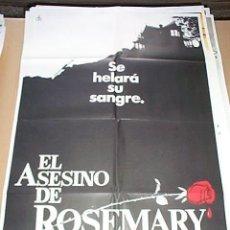 Cine: POSTER ORIGINAL DE CINE 70X100CM EL ASESINO DE ROSEMARY. Lote 85282654