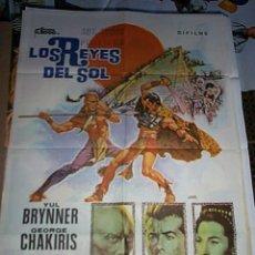 Cine: POSTER ORIGINAL DE CINE 70X100CM LOS REYES DEL SOL. Lote 57682477