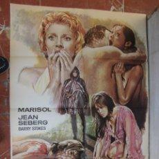 Cine: CARTEL DE LA PELICULA LA CORRUPCION DE CHRIS MILLER 74 X 105 CTMS. EDITADO EN ESPAÑA, MARISOL.... Lote 57697538