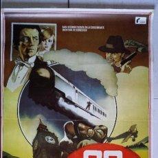 Cine: ANTIGUO Y ORIGINAL CARTEL DE CINE 70 X 100 CM. 39 ESCALONES - 1978. Lote 57716247