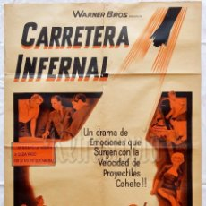 Cine: CARTEL POSTER ORIGINAL *CARRETERA INFERNAL (VIOLENT ROAD)* BRIAN KEITH DICK FORAN. HOWARD W. KOCH. Lote 57738077