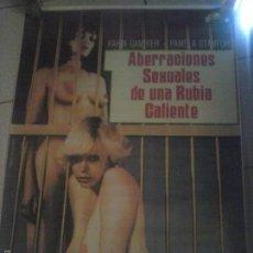 Cine: JESS FRANCO - ABERRACIONES SEXUALES . , CARTEL.. Lote 57743900