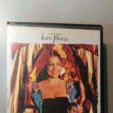 Cine: ISABEL PANTOJA(EL DÍA QUE NACI YO)FORMATO VHS. Lote 57792353