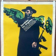 Cine: CARTEL POSTER CINE CUBANO, CUBA , TAMBIEN LOS ANGELES ......., ÑICO 1974 ,SERIGRAFIA ,ORIGINAL , AAC. Lote 57834946