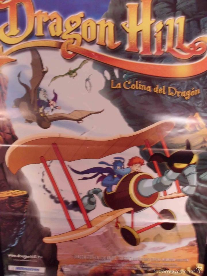 POSTER PELICULA DRAGON HILL LA COLINA DEL DRAGON (Cine - Posters y Carteles - Infantil)