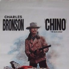 Cine: CHINO, THE VALDEZ HORSES - CHARLES BRONSON. Lote 57960844