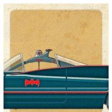 Cine: BATMAN 1966 (BATMOBILE PARTE CENTRAL). LÁMINA CARTEL 45 X 32 CMS.. Lote 221613390