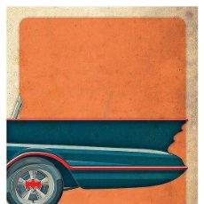 Cine: BATMAN 1966 (BATMOBILE PARTE TRASERA). LÁMINA CARTEL 45 X 32 CMS.. Lote 221613422