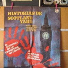 Cine: C1A447 HISTORIAS DE SCOTLAND YARD. Lote 218316943