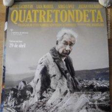Cine: QUATRETONDETA - APROX 70X100 CARTEL ORIGINAL CINE (L29). Lote 58079109