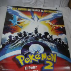 Cine: ANTIGUO POSTER CARTEL DE CINE ORIGINAL - POKEMON. Lote 115695455