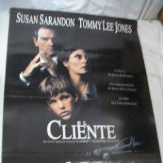 Cine: ANTIGUO POSTER CARTEL DE CINE ORIGINAL - EL CLIENTE. Lote 58099059