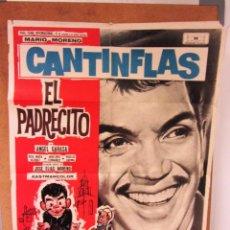 Cine: EL PADRECITO CANTINFLAS 1965 CARTEL ORIGINAL ESPAÑA-ORIGINAL FILM POSTER. Lote 58211151