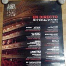 Cine: EN DIRECTO OPERA - APROX 70X100 CARTEL ORIGINAL CINE (L30). Lote 58216756