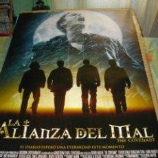 Cine: CARTEL ORIGINAL LA PELICULA DE -LA ALIANZA DEL MAL-MIDE 95 X 70 EL DE LA FOTO VER TODOS MIS CARTELES. Lote 58224490