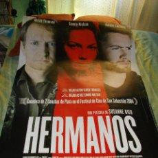 Cine: CARTEL ORIGINAL LA PELICULA DE -HERMANOS- MIDE 95 X 70 EL DE LA FOTO VER TODOS MIS CARTELES Y FOLLET. Lote 58236568