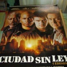 Cine: CARTEL ORIGINAL LA PELICULA DE -CIUDAD SIN LEY- MIDE 95 X 70 EL DE LA FOTO VER TODOS MIS CARTELES. Lote 58236651
