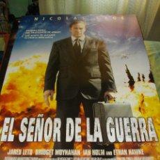 Cine: CARTEL ORIGINAL LA PELICULA DE -EL SEÑOR DE LA GUERRA- MIDE 95 X 70 EL DE LA FOTO. Lote 58236695