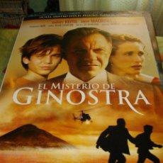 Cine: CARTEL ORIGINAL LA PELICULA DE -DE EL MISTERIO DE GINOSTRA- MIDE 95 X 70 EL DE LA FOTO . Lote 58237193