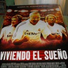Cine: CARTEL ORIGINAL LA PELICULA DE -VIVIENDO EL SUEÑO- MIDE 95 X 70 EL DE LA FOTO. Lote 58237377