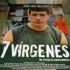 Cine: CARTEL ORIGINAL LA PELICULA DE - 7 VIRGENES - MIDE 95 X 70 EL DE LA FOTO VER TODOS MIS CARTELES . Lote 58292484