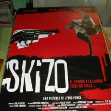 Cine: CARTEL ORIGINAL LA PELICULA DE - SKIZO- MIDE 95 X 70 EL DE LA FOTO VER TODOS MIS CARTELES Y FOLLETOS. Lote 58292759