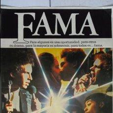 Cine: ANTIGUO Y ORIGINAL CARTEL DE CINE 70 X 100 CM. FAMA - 1980. Lote 58353818
